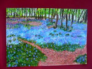 Hasenglöckchen-Wald bei Doveren